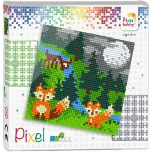 Pixelhobby rókák
